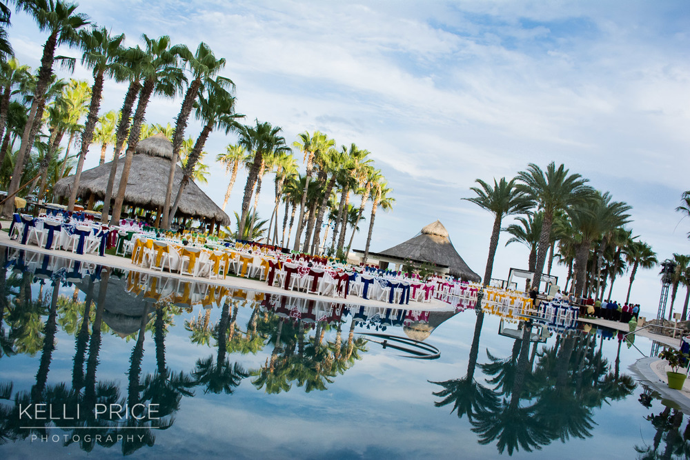 Farewell Party at Hilton Los Cabos, Mexico
