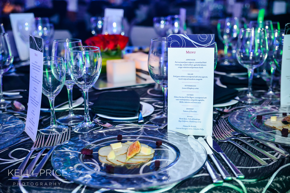 Awards Ceremony Table Detail at JW Marriott - Cancun, Mexico