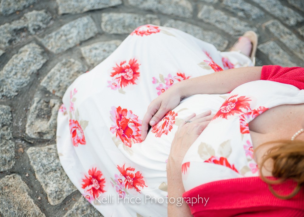 Baby Bump - Atlanta Maternity Photo Session - Historic Oakland Cemetery, GA