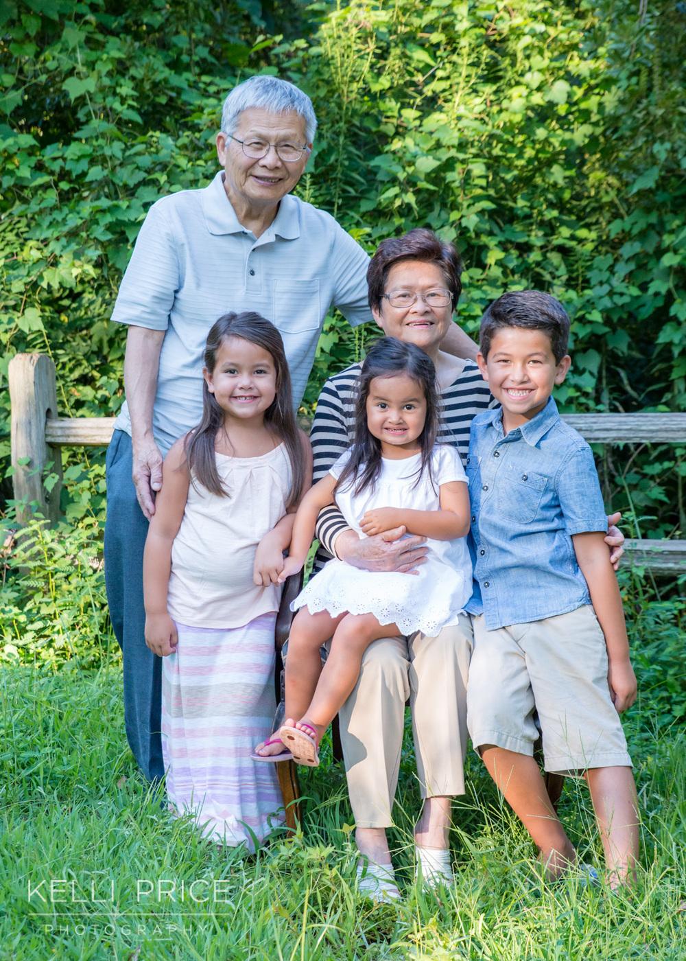 Grandparents & Grandchildren Family Session, Zoo Atlanta