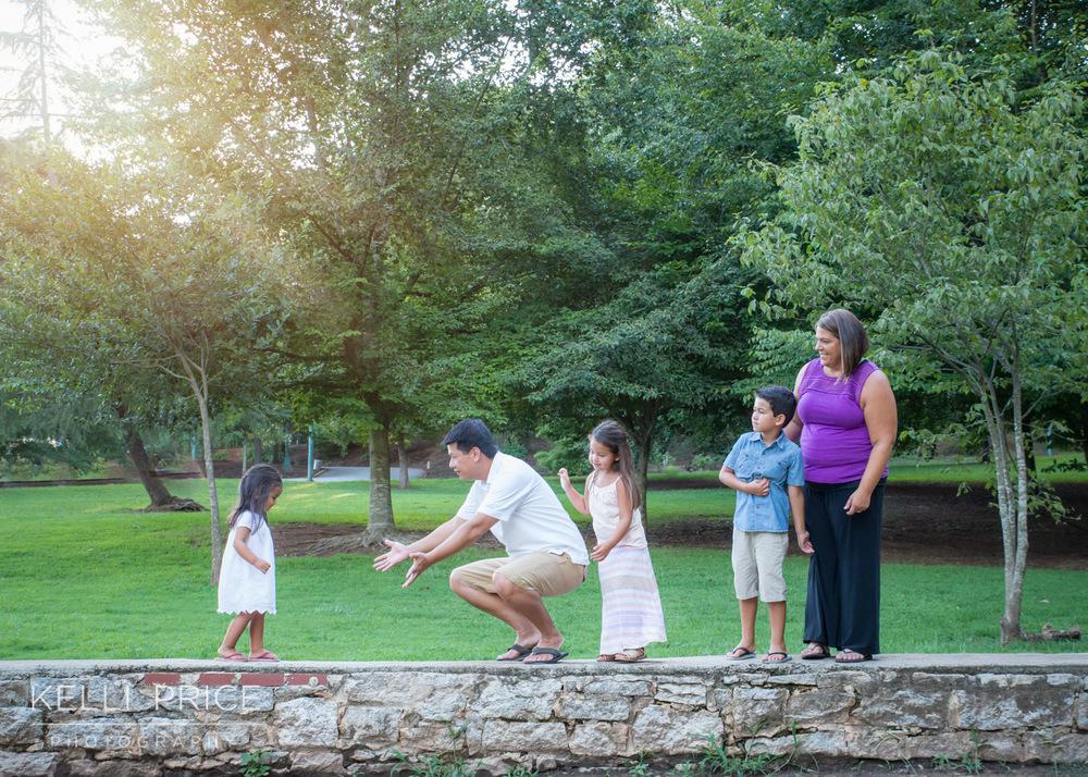 Atlanta Family Photographer, Grant Park & Zoo Atlanta, Georgia