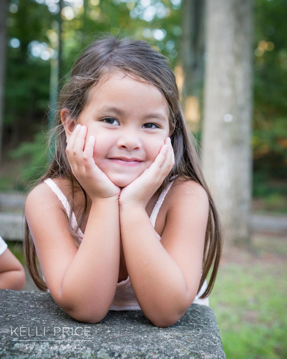 Little Girl Portrait in Atlanta, Georgia