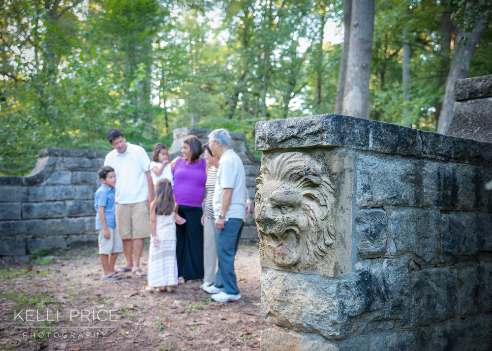 Extended Family Digital Photography in Atlanta