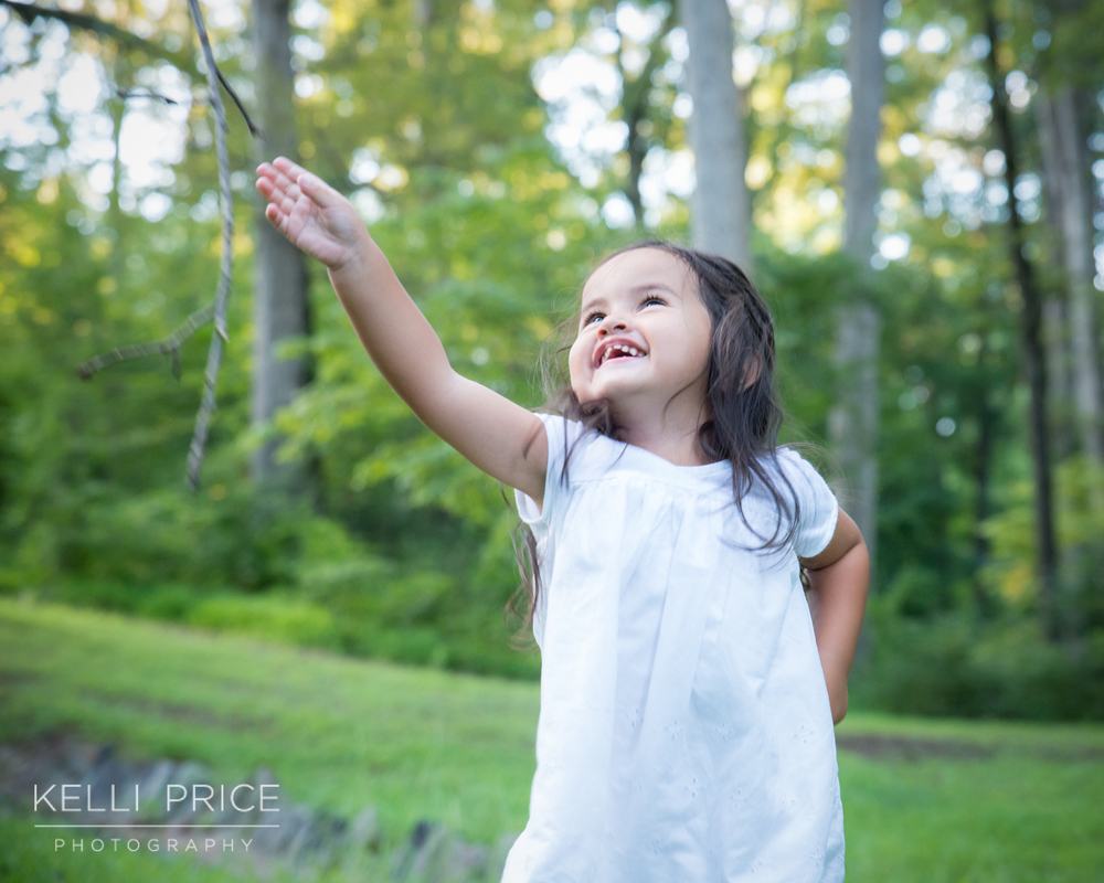 Little Girl Lifestyle Portraits in Atlanta, Georgia