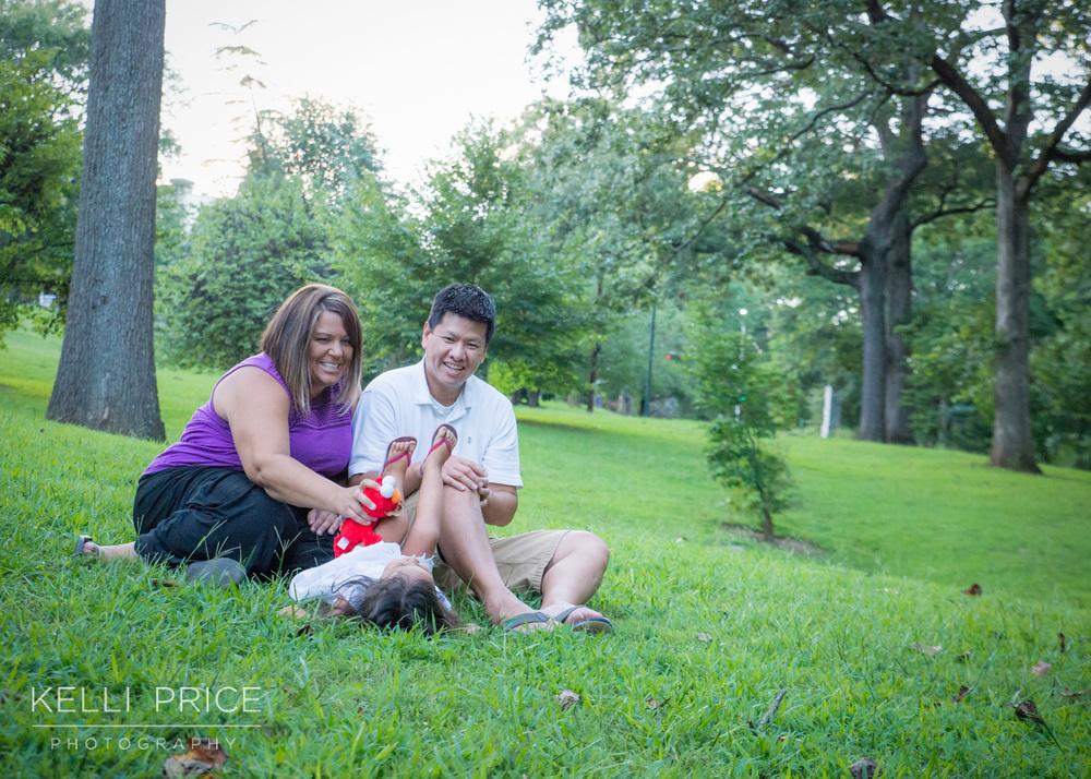 Lifestyle Family Portraits, Grant Park