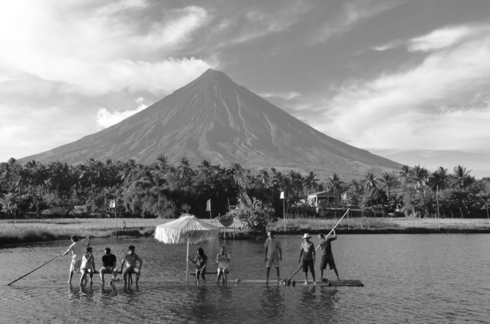 Local Tourists visit French Vibar's hometown of Camalig at the foot of the iconic Mayon volcano.  Photo by Camalig Municipality.