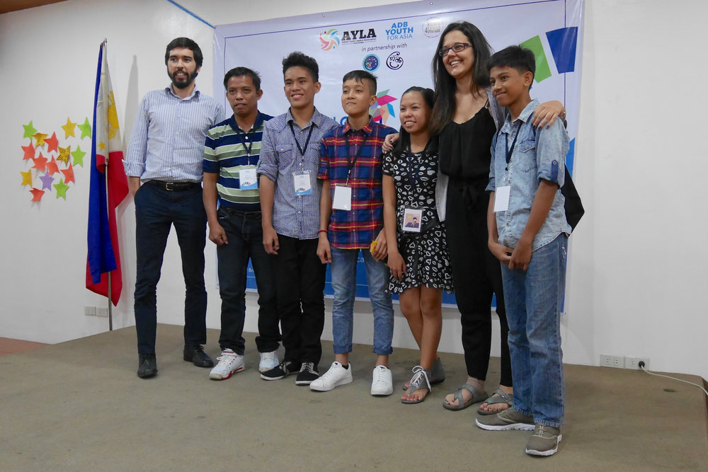 The Young Bridging Leader team from Zamboanga