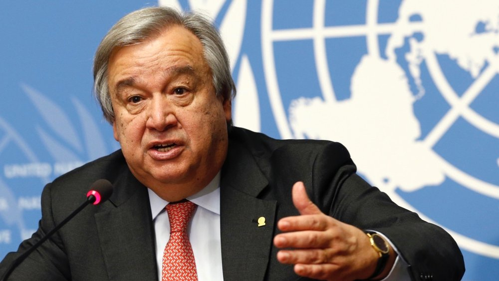 António Guterres, the new UN Secretary General. Photo by Denis Balibouse/REUTERS