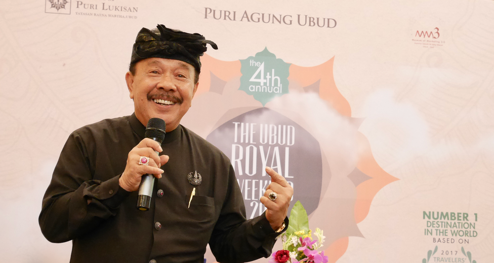 A master of modern marketing: Tjokorda Gde Putra Sukawati, Prince of Ubud