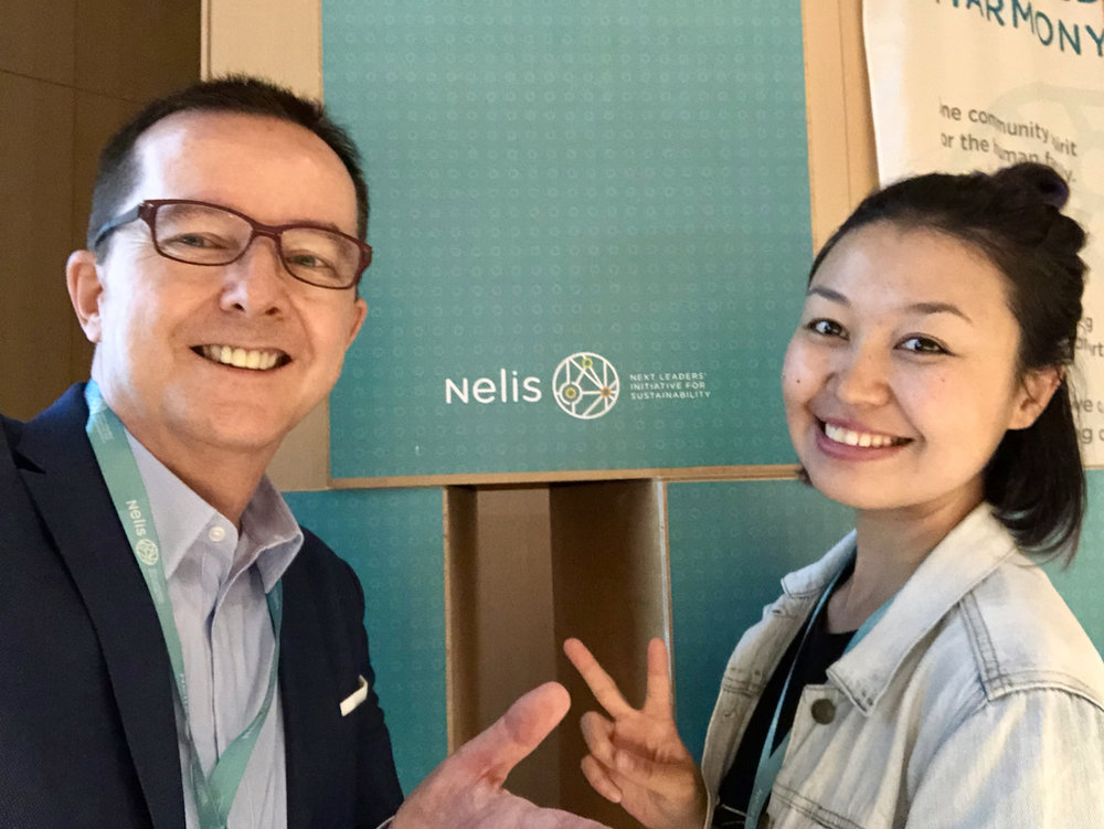 Zulfiya from Kazakhstan joined the Nelis Next Leaders Summit 2018 in Tokyo.