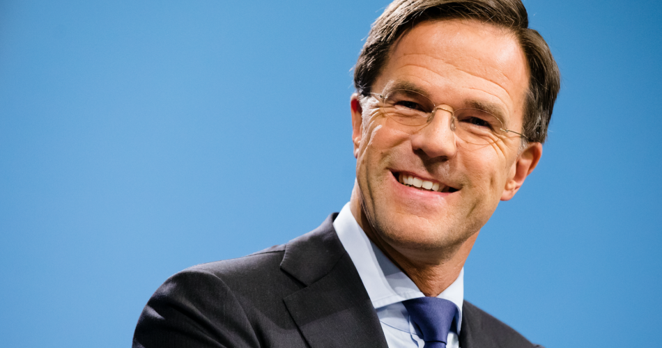 Photo Mark Rutte by grazia.nl