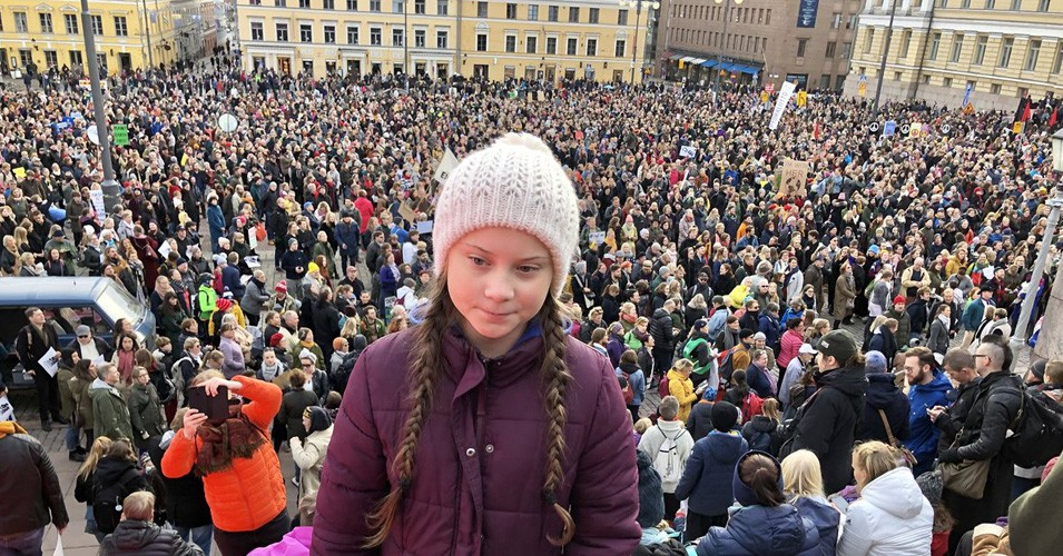 Photo of Greta Thunberg by Common Dreams
