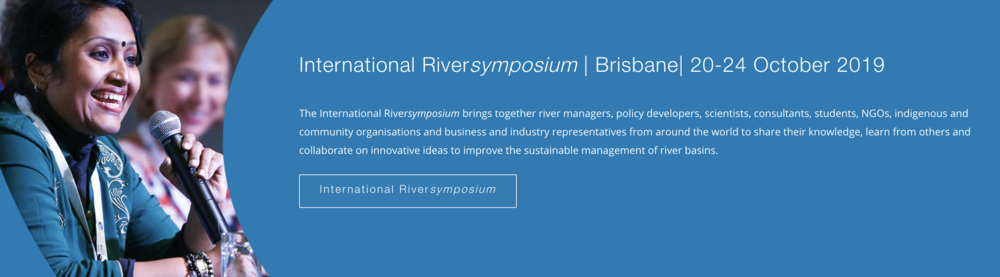 Join the International Riversymposium - check out IRF's website