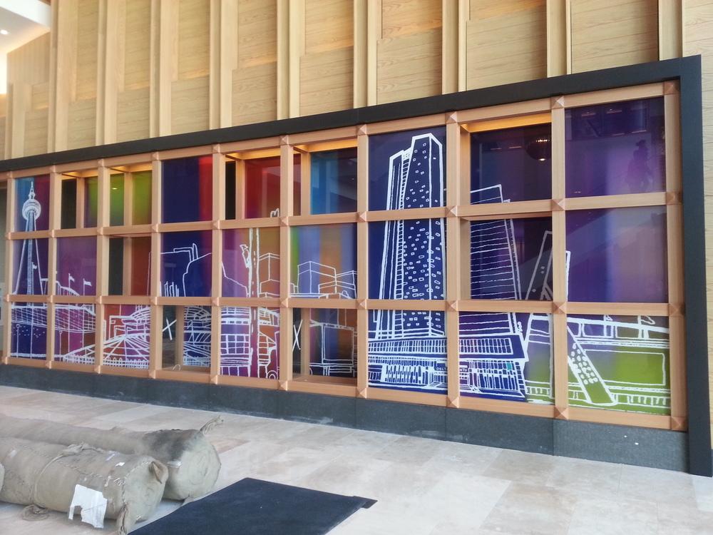 Delta Toronto Lobby Art