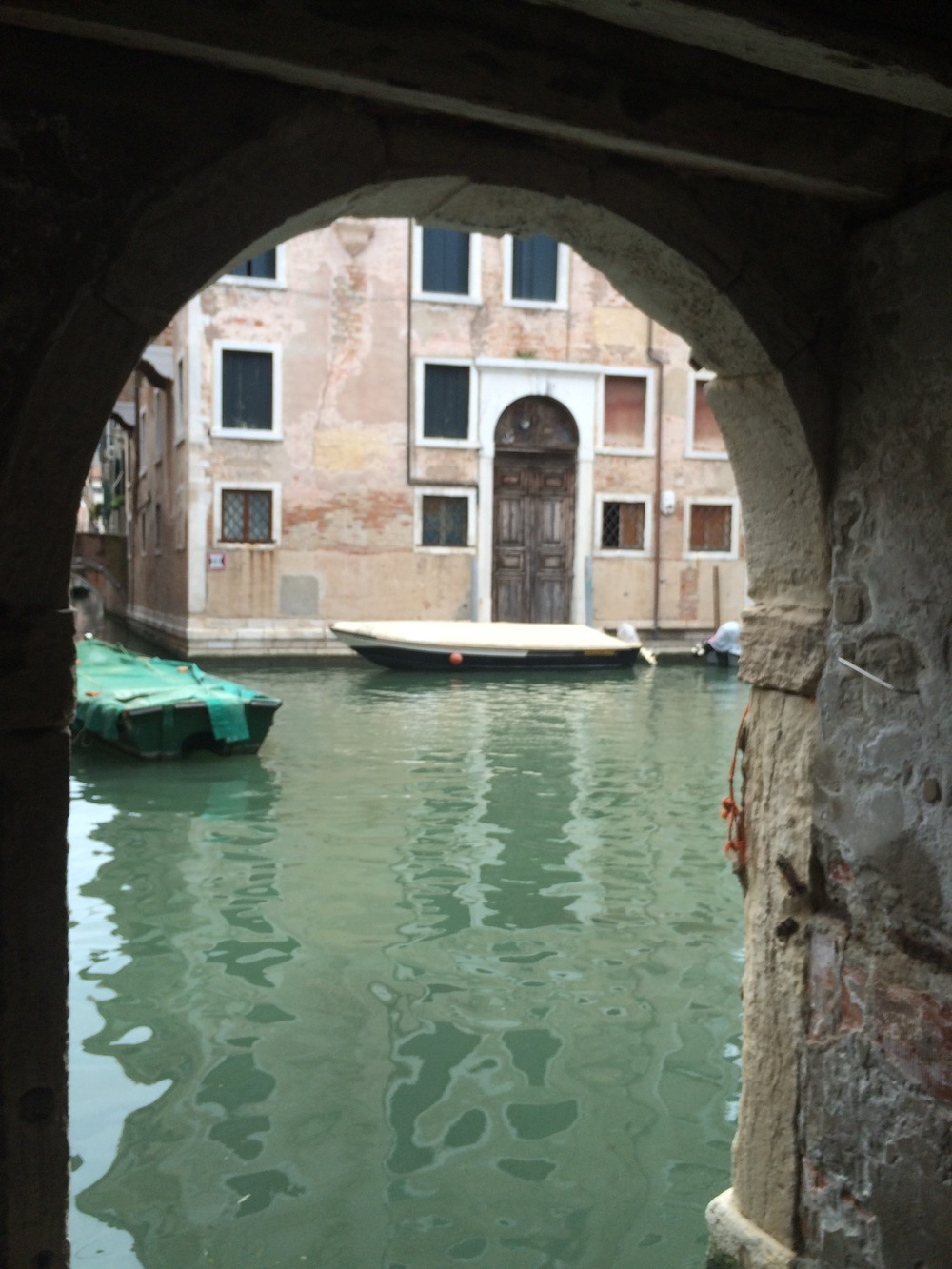 Then to Venice, water everywhere and amazingly beautiful, you catch your breath every time you turn a corner.