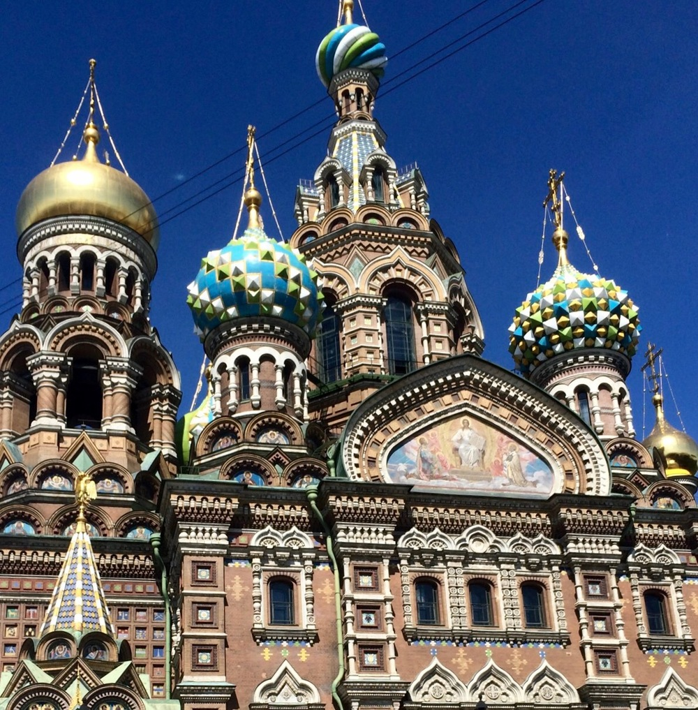 St. Petersburg - Venice of the north and amazing in size and grandeur. Breathtaking  and light throughout the night.