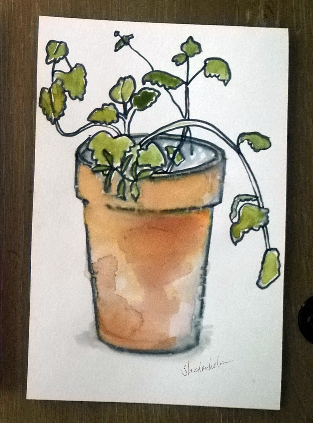 Kendra Shedenhelm_Springtime_Watercolor