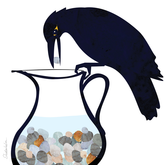 Kendra_Shedenhelm_Illustration_Friday_CrowPitcher_Collage