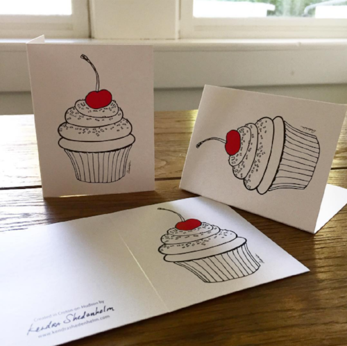 Kendra Shedenhelm, Notecards for Baked by Susan, Croton on Hudson