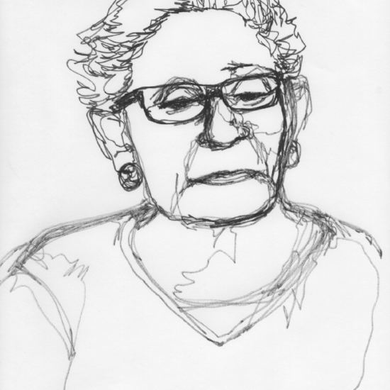 Kendra Shedenhelm_Continuous Line Drawing_Portraits_2