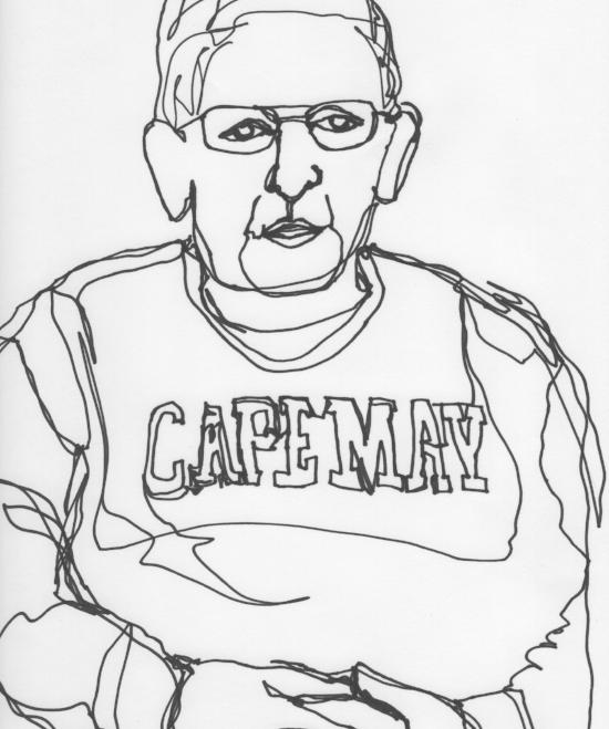 Kendra Shedenhelm_Continuous Line Drawing_Portrait_4