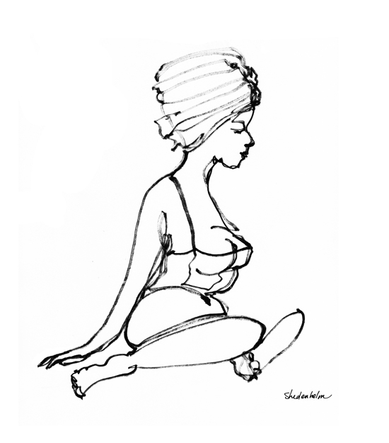 Kendra_Shedenhelm_ContinuousLineDrawing_Woman_With_Towel.jpg