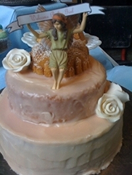 "10"" Lower 6"" Upper Fairy Cake"