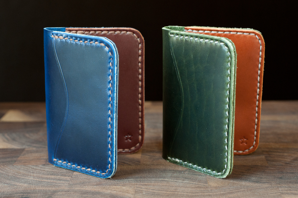 3 pocket slim wallets