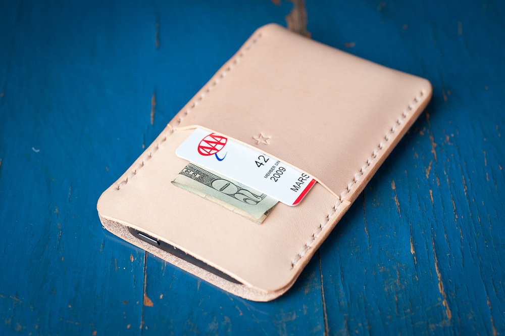 iPhone sleeve with pocket