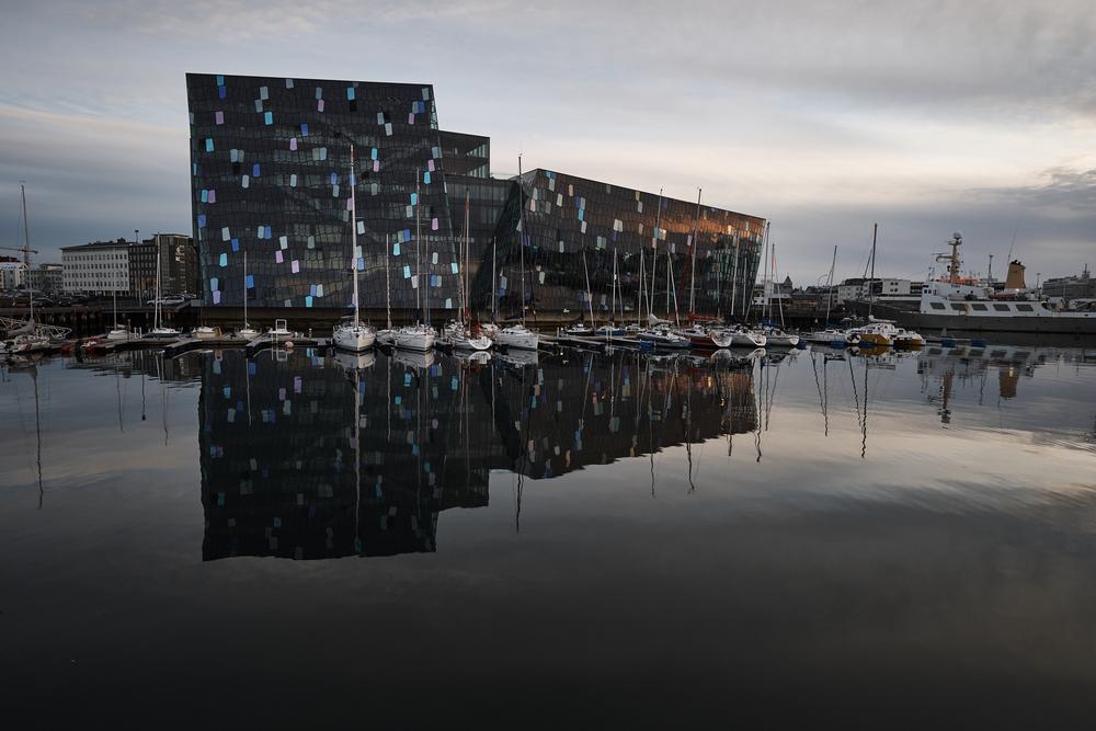 Reykjavik's Harpa Concert Hall -- Harpa 8