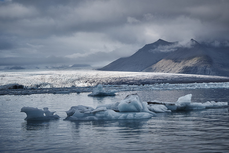 Jökulsárlón at the foot of Vatnajökull (taken Septermber 23, 2015)