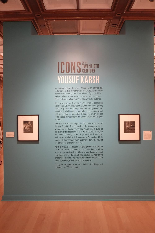 Yousuf Karsh, Icons of the Twentieth Century