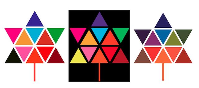 Canada's Centennial logo, designed by  Stuart Ash