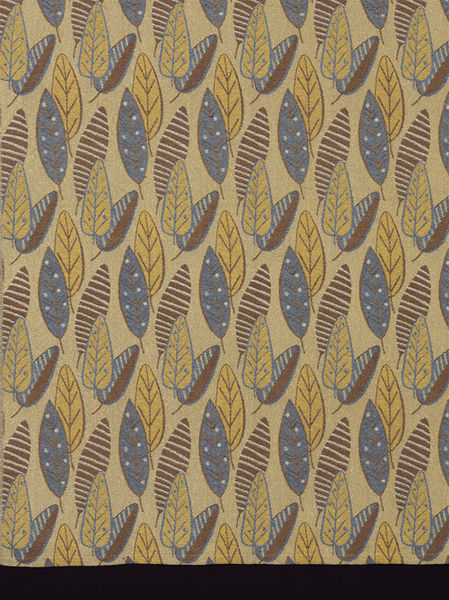 "Woven, 1949, British; Straub, Marianne for Helios Ltd. ""Brisbane"""