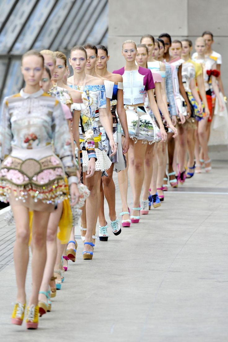Examples from Mary Katrantzou's Spring 2011 collection