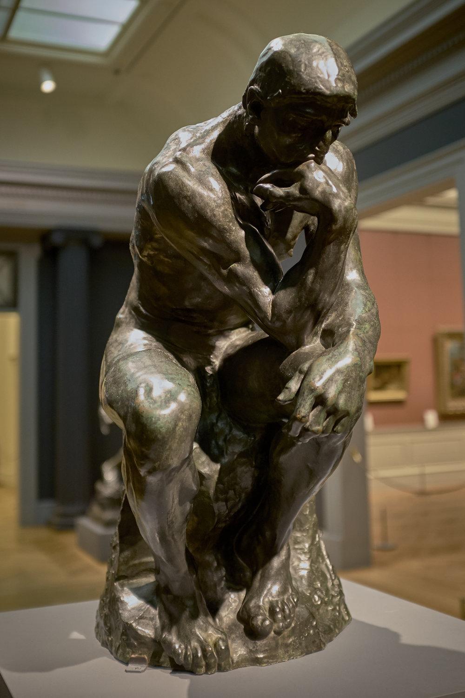 Le Penseur , Auguste Rodin