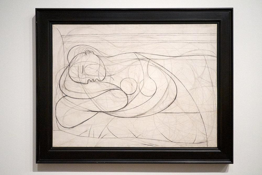Pablo Picasso —  Femme nue couchée , 1932