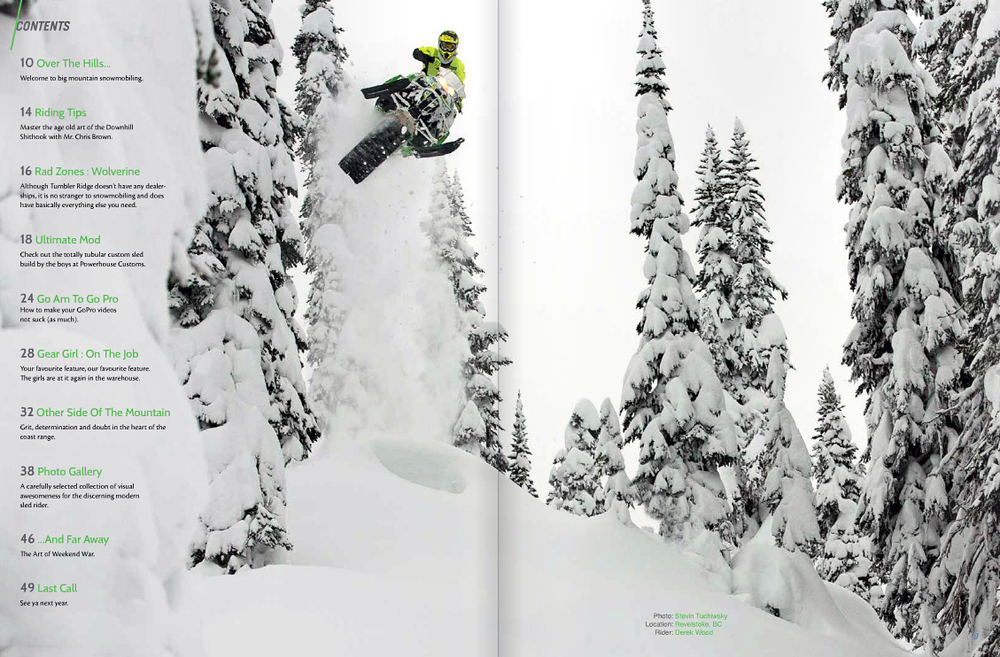 Mountain Sledder Vol. 5 Winter 2014