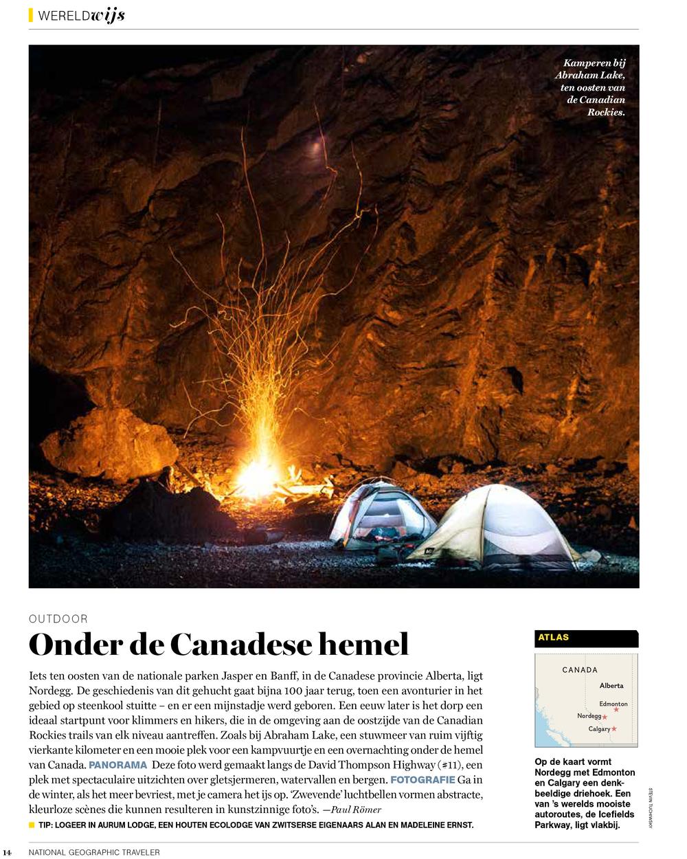 National Geographic Traveler Netherlands, December 2014