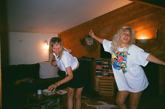 When I first met @rubycaster we took a bus upstate to visit @elkemusic and did nothing but dance with each other in the kitchen, in the fields, around the fire for an entire weekend. Happy new year of life on earth babe