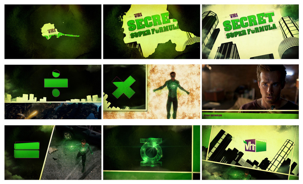 VH1 Green Lantern Pitch