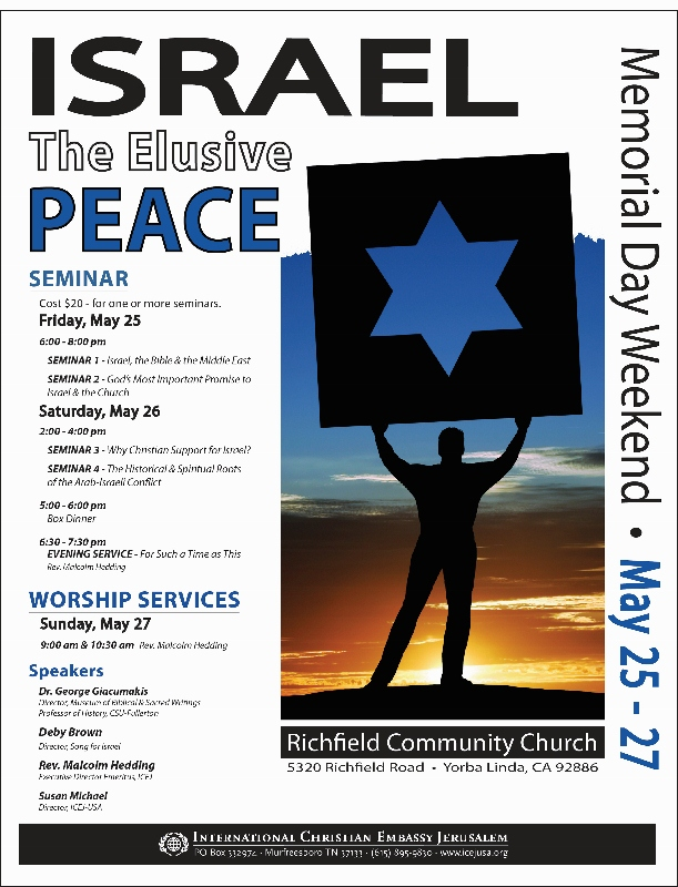 ISRAEL: The Elusive Peace Conference