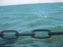 Chains on Sea of Galilee