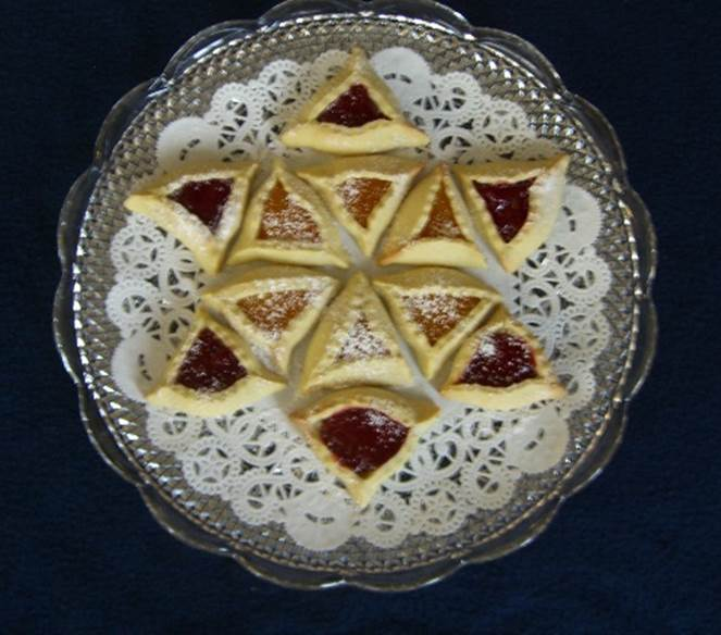 Hamantaschen (Haman's Ears) Cookies