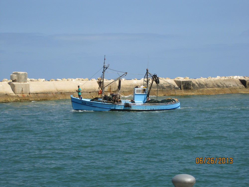 Fishing Boat in Joppa