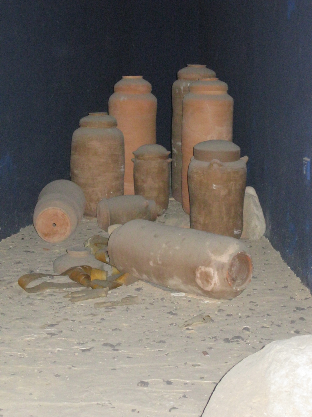 Jars at Qumran