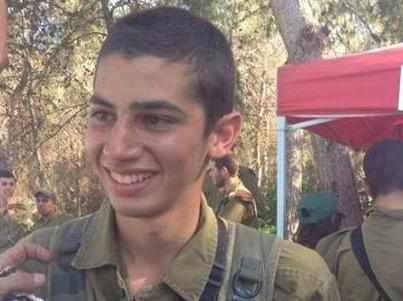 Sargeant Shon Mondshine, 19, from Tel Aviv