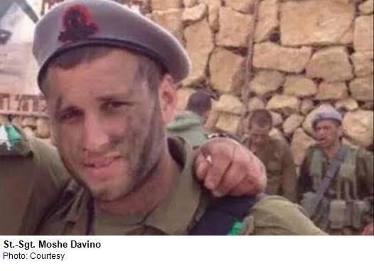 Staff Sargeant Moshe Davino, 20, Jerusalem