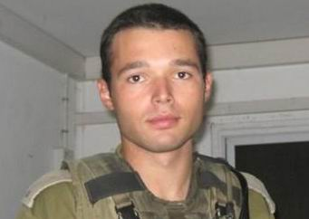 Captain Dmitri Levitas, 26, from Jerusalem