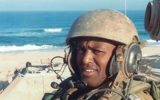 Chief Warrant Officer Baynesian Kasahun, 39, from Netivot